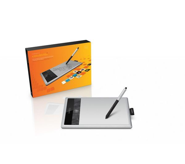 Bamboo Fun Pen Touch Graphics Tablet Small With Photoshop
