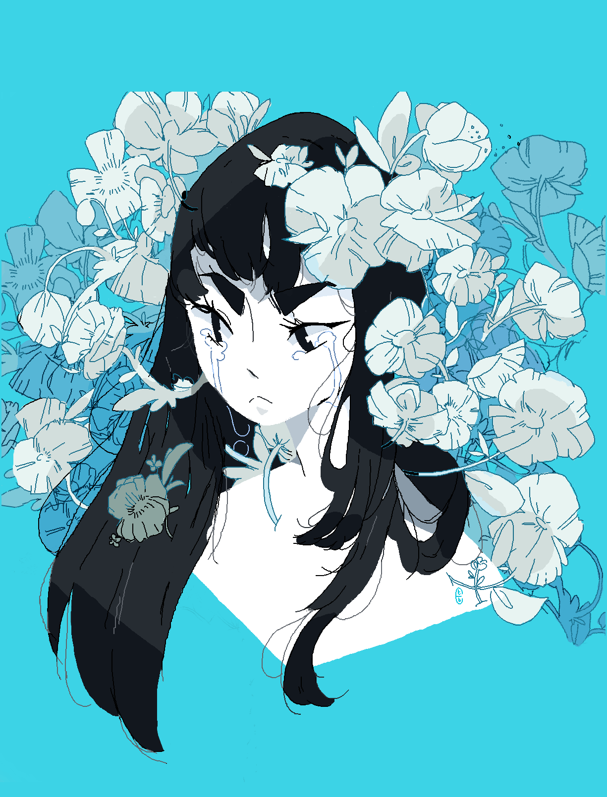 satsuki  flowers are my two favourite things
