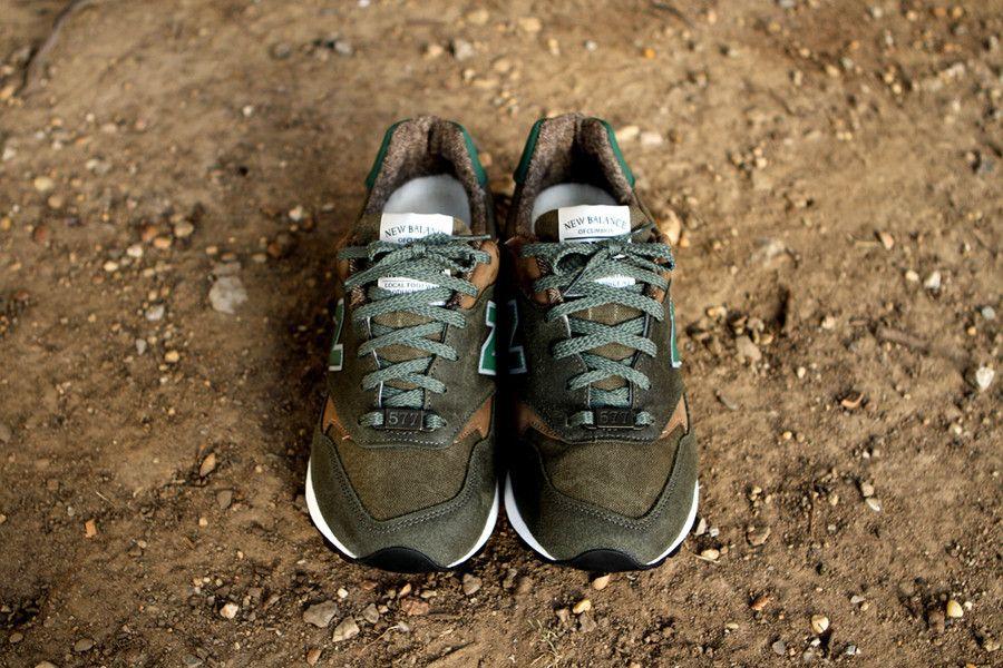 NEW BALANCE 577 - Farmer's Market Olive | Sneaker | Kith NYC