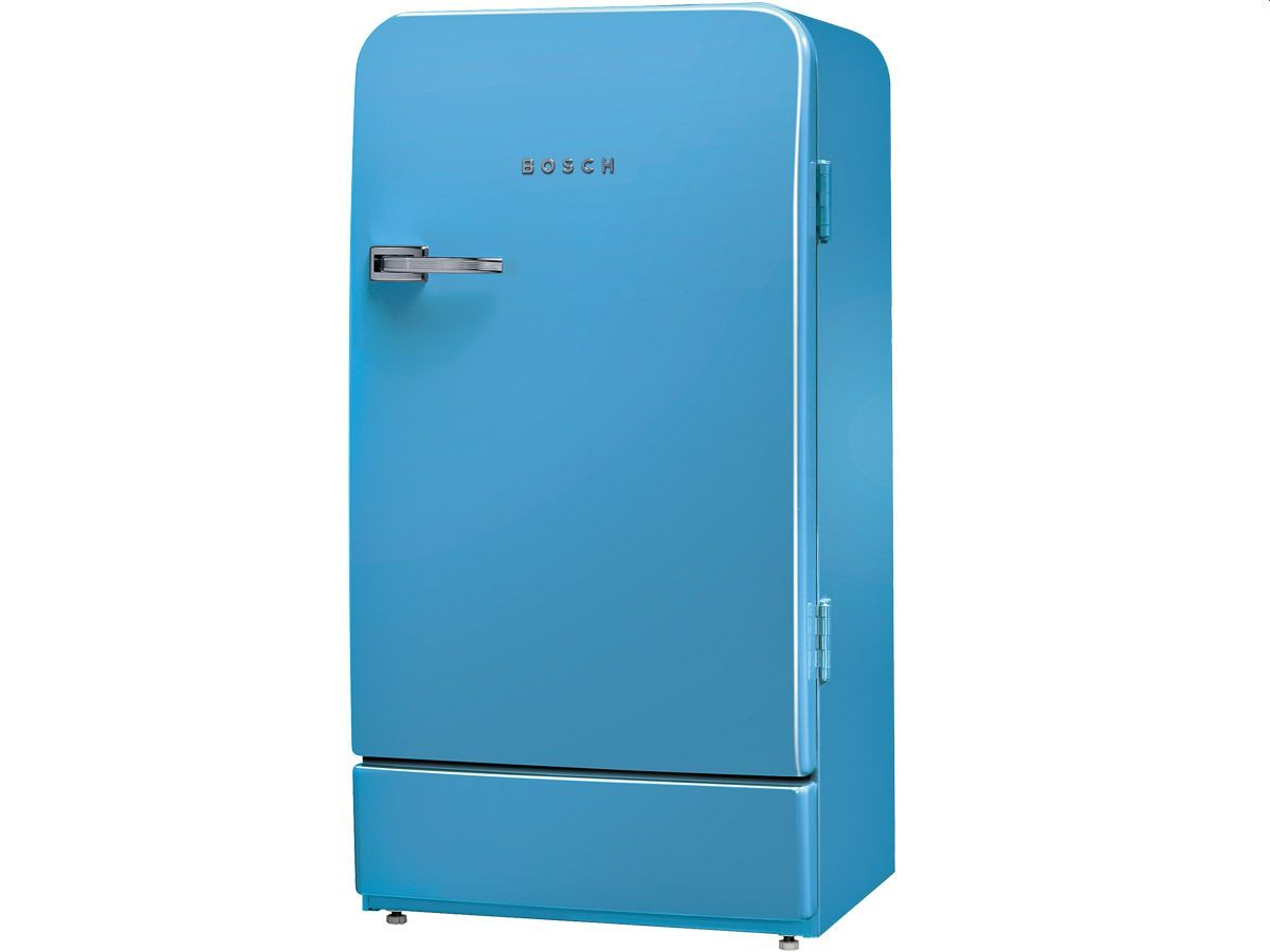 Bosch Kühlschrank Vintage : Bosch ksl au stand kühlschrank blau homesick