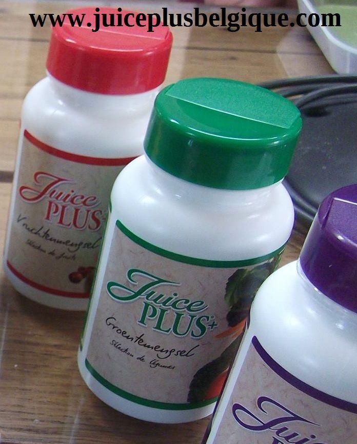 Des gélules de concentrés de fruits, de légumes et de baies.Pour être en forme tout les jours www;juiceplus belgique.com