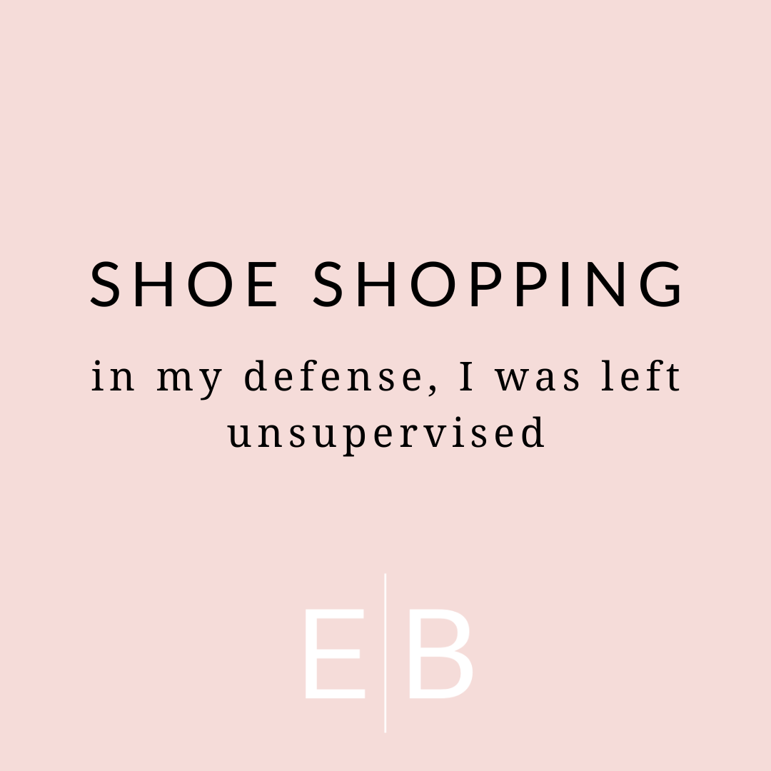 Shoe Shopping In My Defense I Was Left Unsupervised In 2020 Shoe Boutique Shoes Disc Earrings