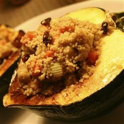 Moroccan Style Stuffed Acorn Squash Recipe Recipes Acorn