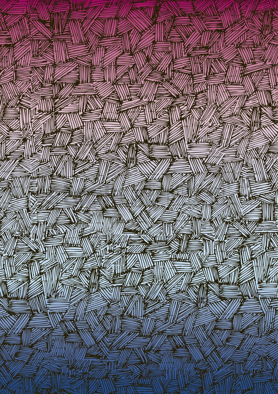 Abstract pattern of overlapping lines vectors stock clipart