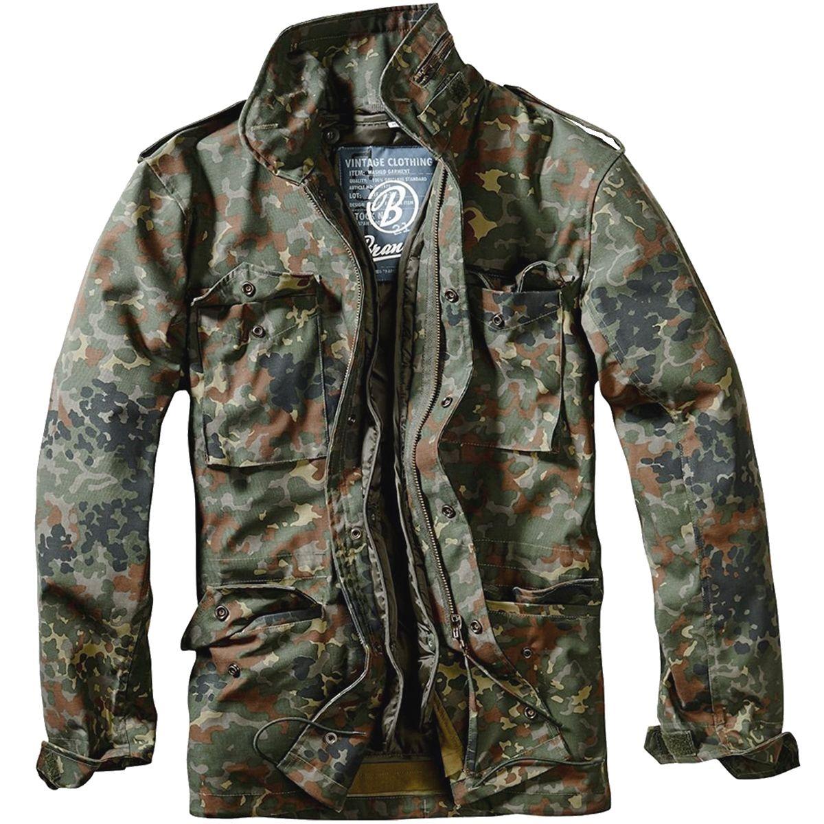 Brandit M-65 Classic Jacket Flecktarn   Куртки   Jackets, Classic и ... f7e7a7541a3