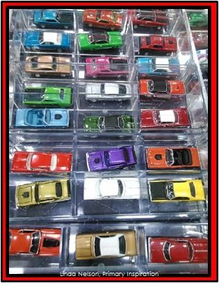 Primary Inspiration: Math is Everywhere - Toy Cars!
