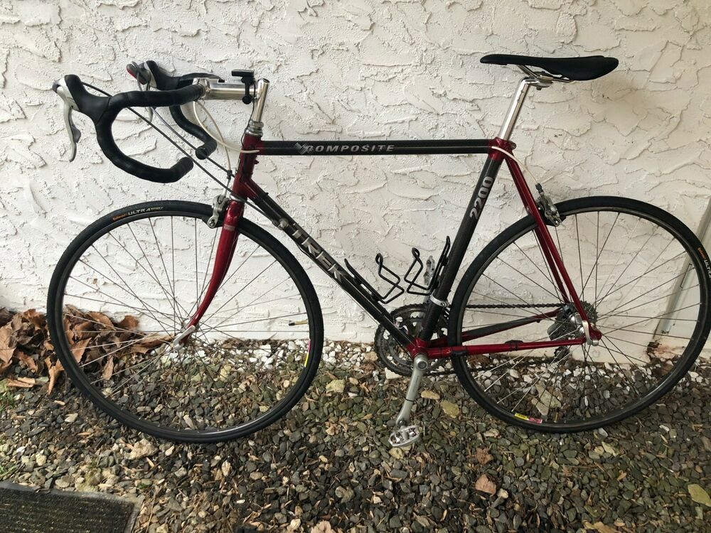 Trek 2200 Composite Carbon Fiber And Aluminum Road Bike With