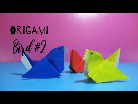 Photo of พับนกกระดาษกางปีก #2 | Origami Bird #2 | PlaUbon