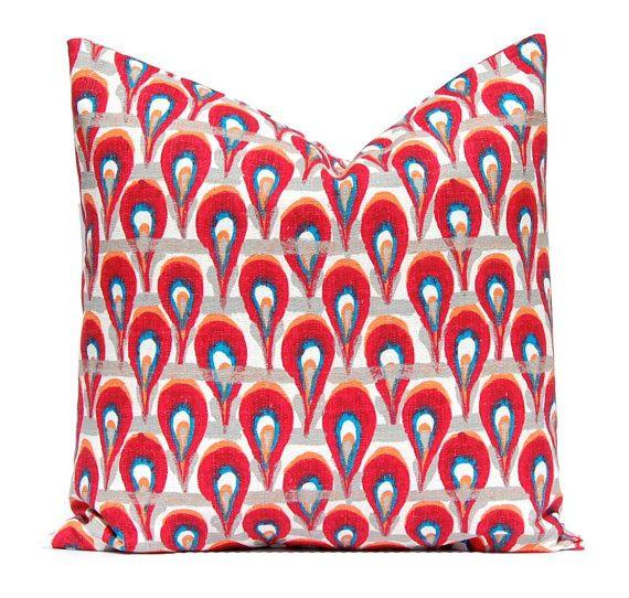 Euro Sham Pillow Cover Throw Pillow Cover by FestiveHomeDecor