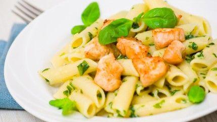 باستا بالدجاج ولا أشهى Recipe Recipes Lemon Garlic Pasta Food