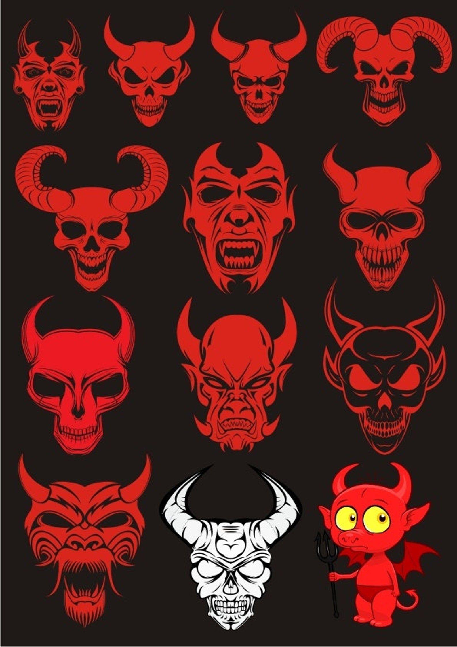 Pin On Demon Drawings
