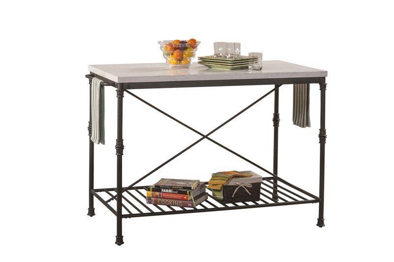 Hillsdale Furniture 5976-880 Castille Metal Kitchen Island