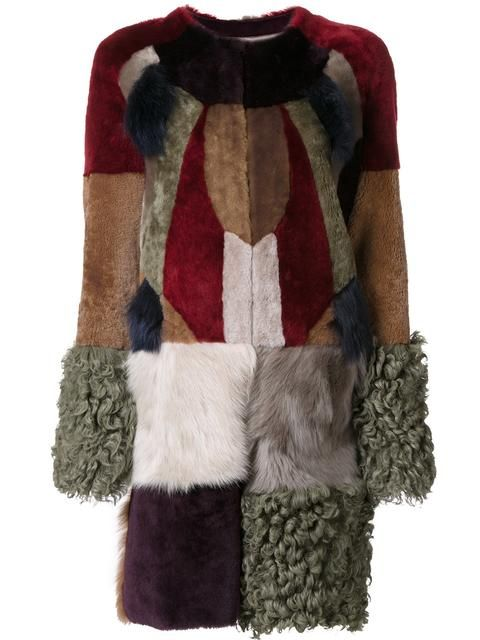 Shop Bazar Deluxe patchwork fur coat  in Gallery Andorra from the world's best independent boutiques at farfetch.com. Shop 400 boutiques at one address.