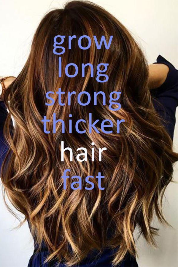 how to make your hair grow longer faster pinterest