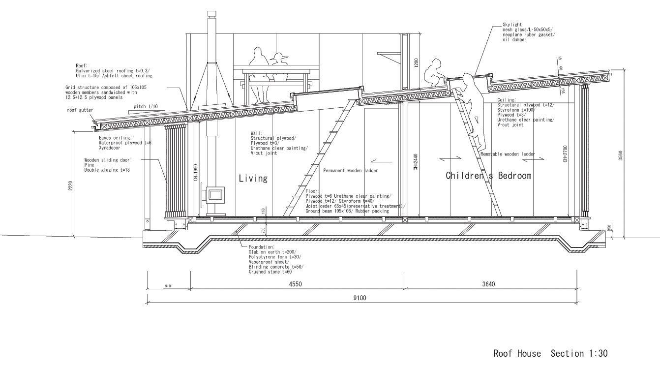 Roof House Tezuka Architects Architects Architecture And