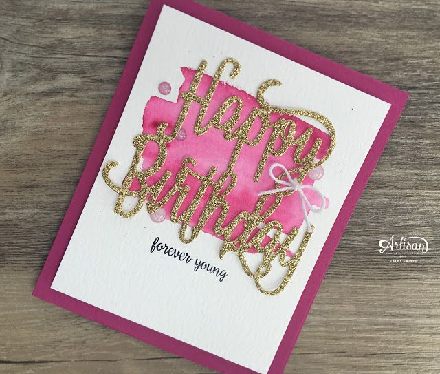 Check Out This Fun Birthday Card Using The Happy Birthday Gorgeous