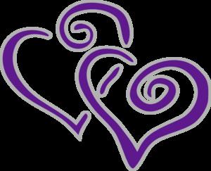 new purple and silver hearts beauty in purple pinterest rh pinterest com military purple heart clipart purple heart clip art images