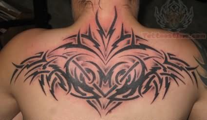 Upper Back Tattoos Men Tribal Tattoo On Upperback For Men Tribal Tattoos Tattoos Back Tattoo