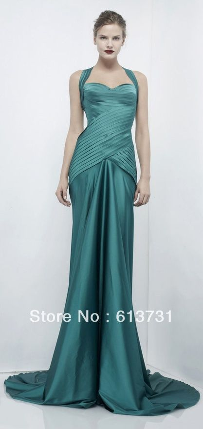 Pin by C. Hogan on Color - Teal | Pinterest | Robes, Haute couture ...