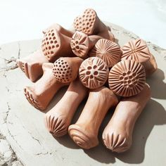 Ceramic Stamps / Clay Stamps / Tools for Ceramics
