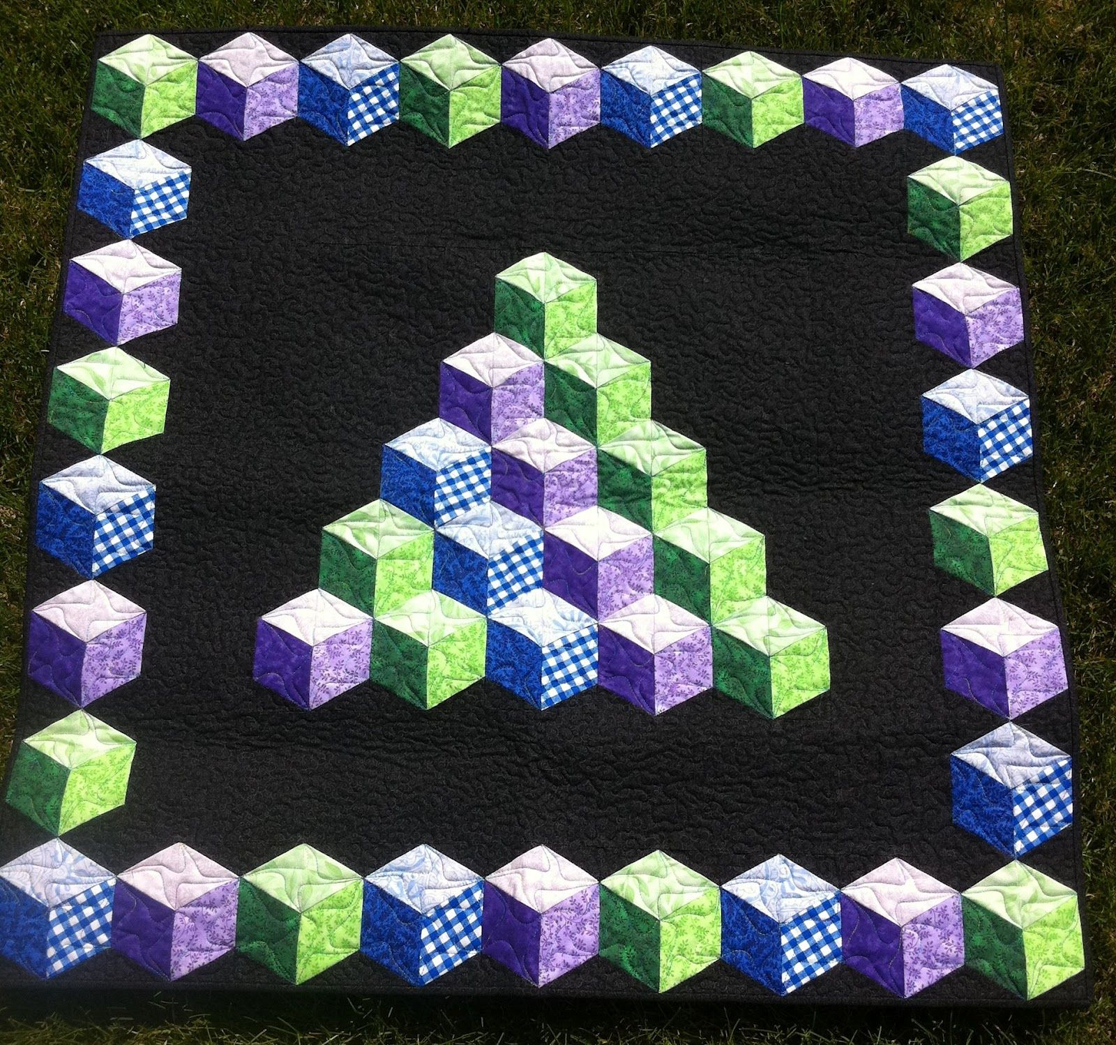Baby Blocks, Marci Baker pattern, seen at Ormond Beach Quilts ... : baby block quilt - Adamdwight.com
