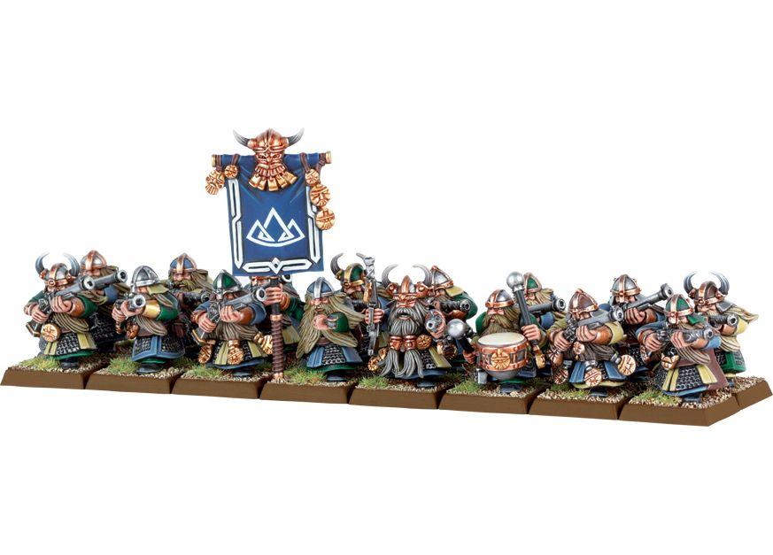 Dwarven thunderers (With images) | Warhammer, Warhammer dwarfs