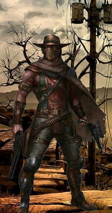 Erron Black 2 Mortal Kombat Art Mortal Kombat Characters Mortal Combat