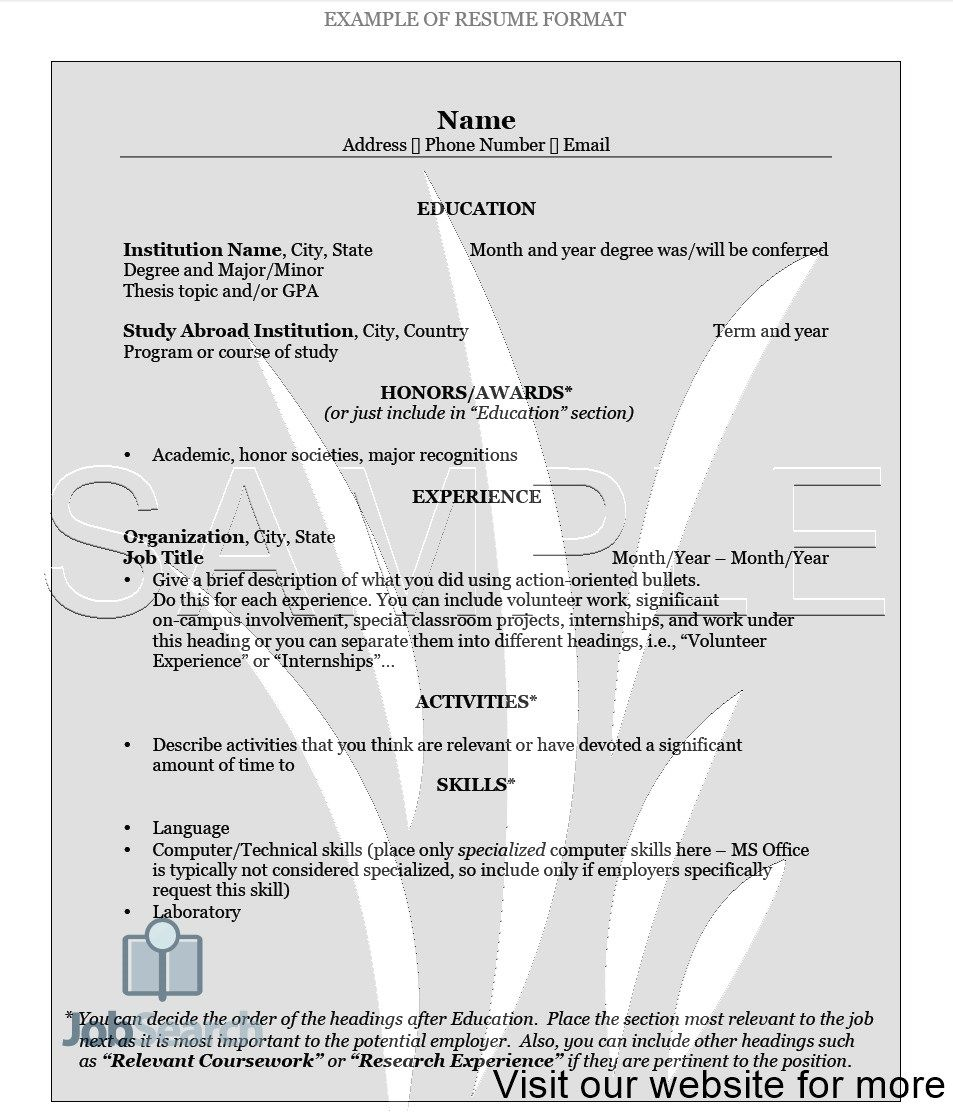 Pin on Resume Design Template