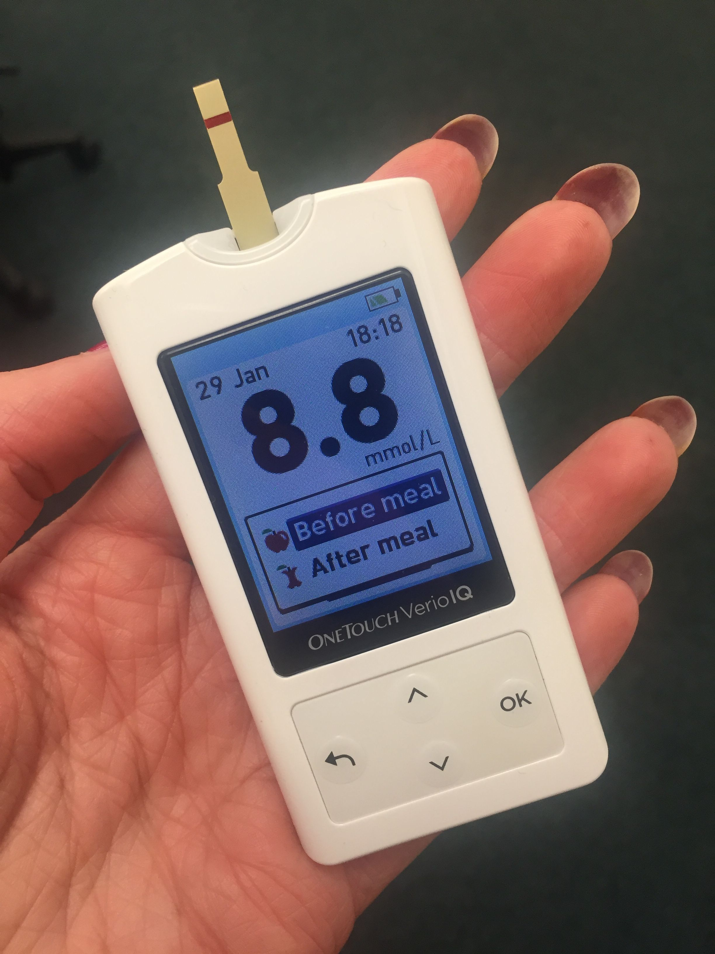 Get Your Verio Iq Blood Glucose Meter Here Free Blood Glucose