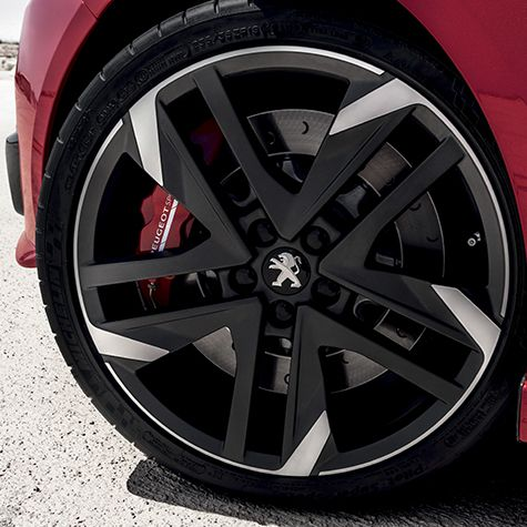 New Peugeot 308gti The Exclusive New Lightweight 19 Reverse