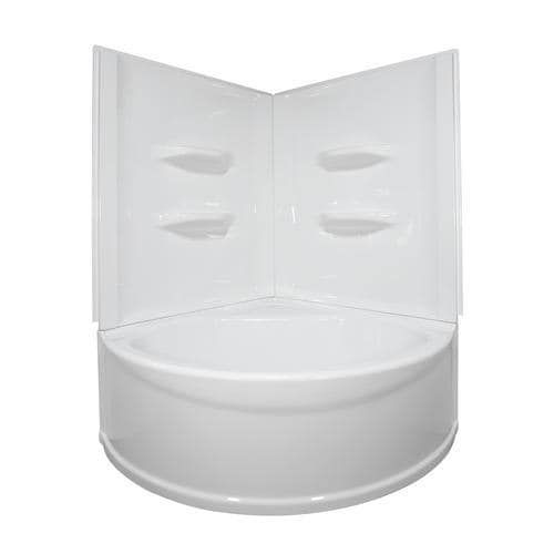 Lyons Sea Wave V Corner Soaking Bathtub