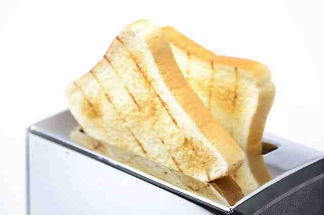 Butter tost bread - Chleb tostowy maślany.