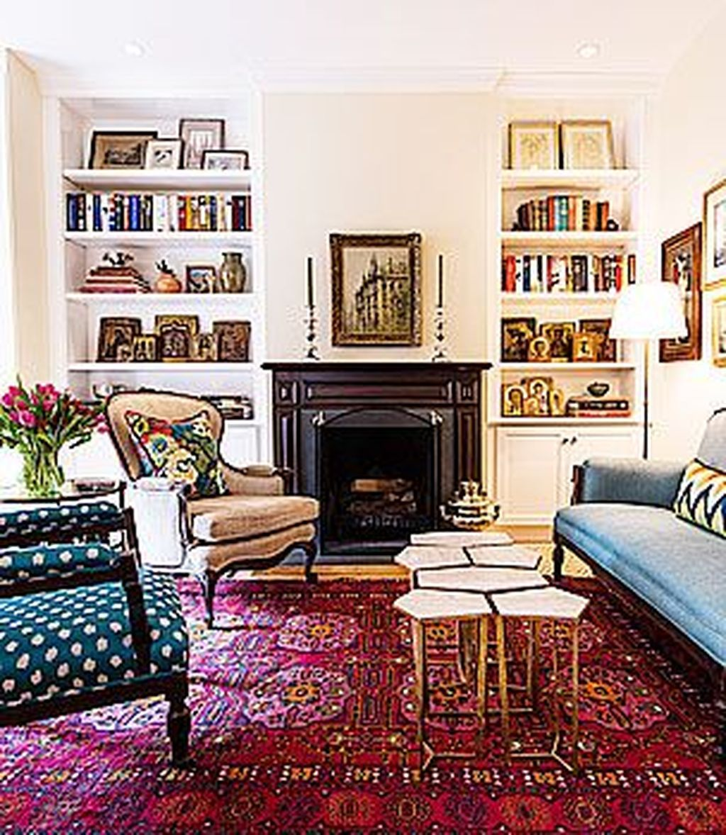 17 Beautiful Persian Rug Ideas For Living Room Decor  Rugs in
