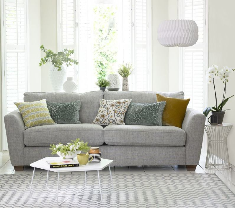 The Sophia 3 Seater Sofa In Sky Living Room Pinterest