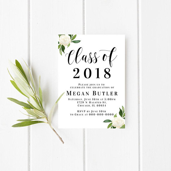 Class of 2018 sign class of 2018 invitation template high school class of 2018 sign class of 2018 invitation template high school graduation college graduation announcement printable invitation invitation templates stopboris Images
