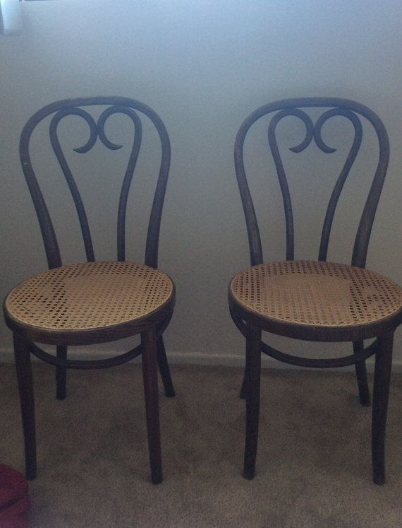 i found themmmmmm set of two beautiful bentwood chairs,thonet