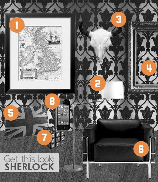 Where to buy items from BBC's Sherlock.