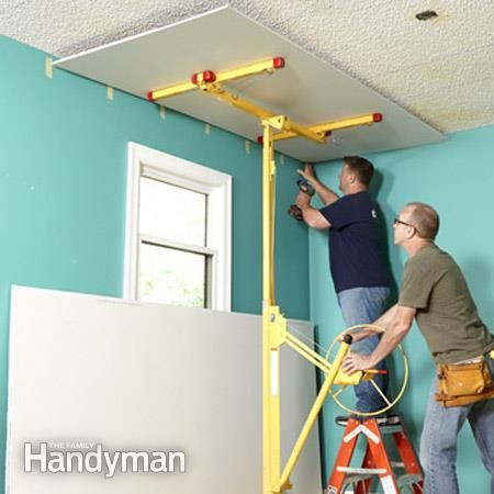 Why Remove Popcorn Ceiling When You Can Cover It With Drywall Removing Popcorn Ceiling Popcorn Ceiling Covering Popcorn Ceiling