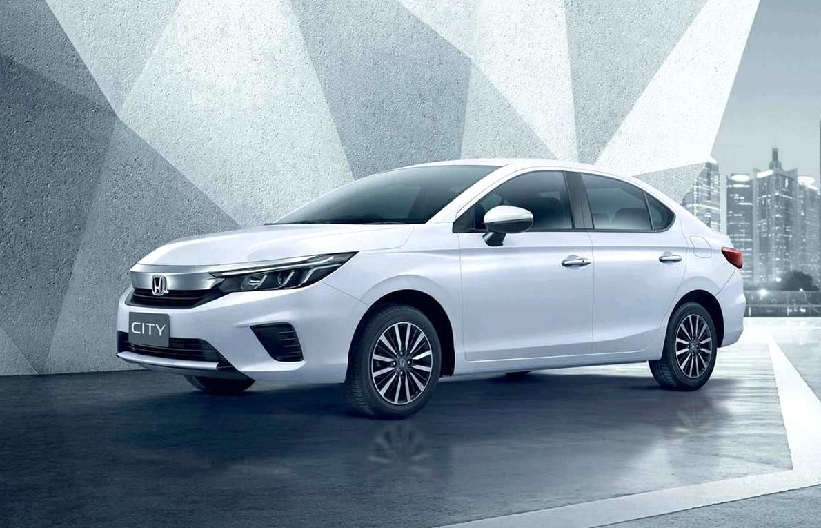 Honda Officially Launched The 5th Generation All New Honda City In Thailand The All New Honda City Is Available In Four Variants S V In 2020 Honda City New Honda Honda