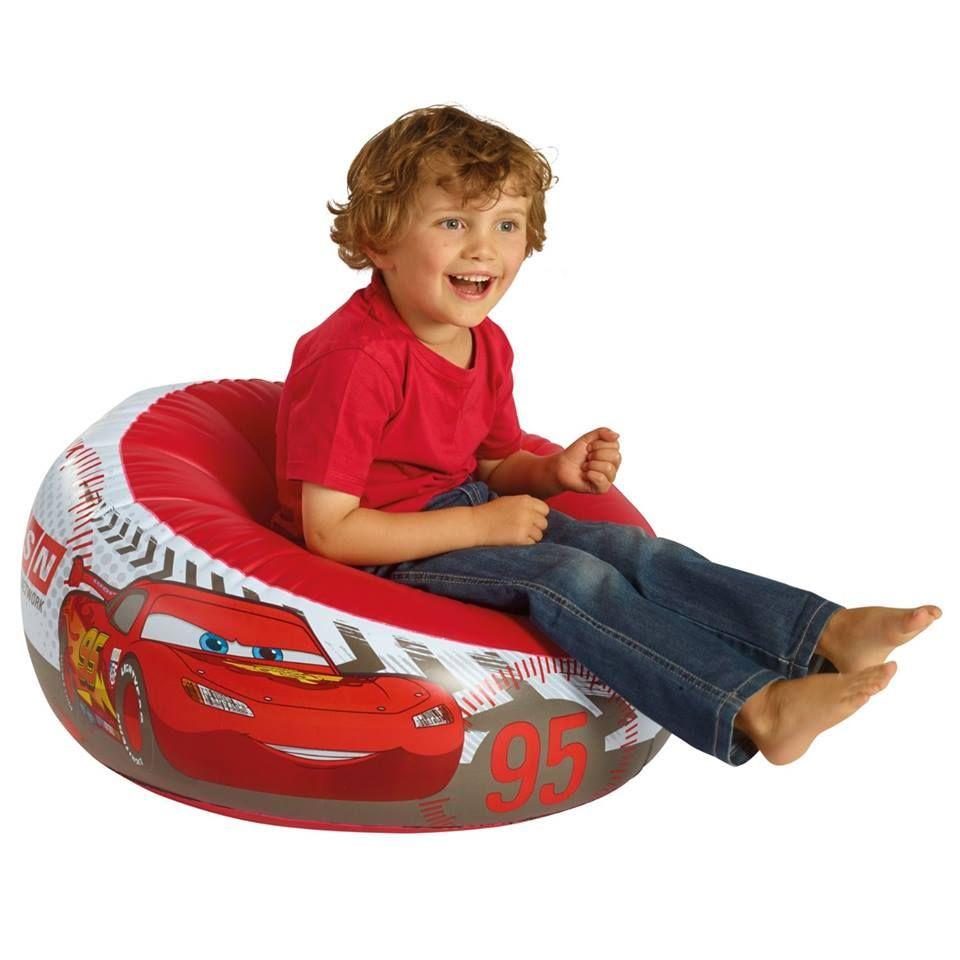 Autozimmer: Aufblasbarer Kindersessel mit coolem Disney Cars Motiv ...