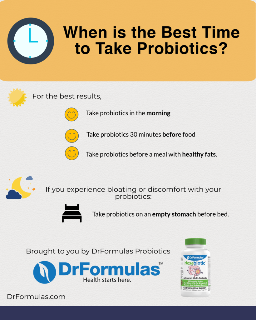 The Best Time To Take Probiotics To Avoid Side Effects