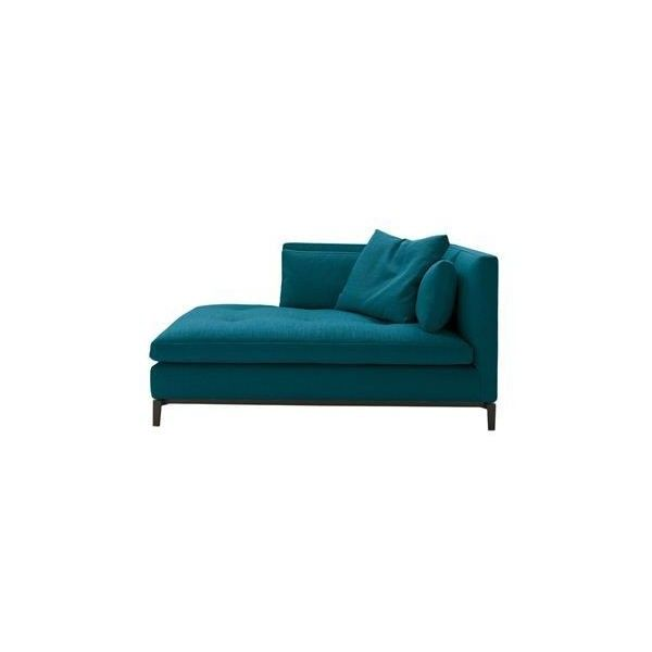 Andersen Chaise Longue ❤ liked on Polyvore featuring home, furniture, chairs, accent chairs, mod chair, mod furniture, modern chaise lounge, modern day bed and modern furniture