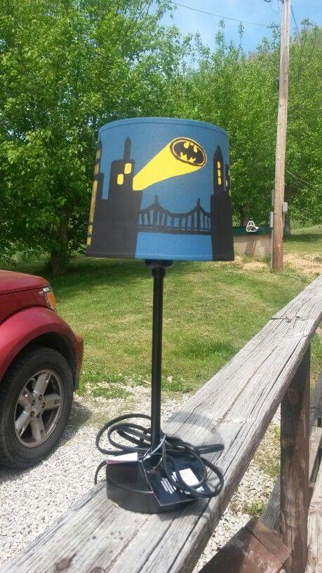 DIY Batman Lamp