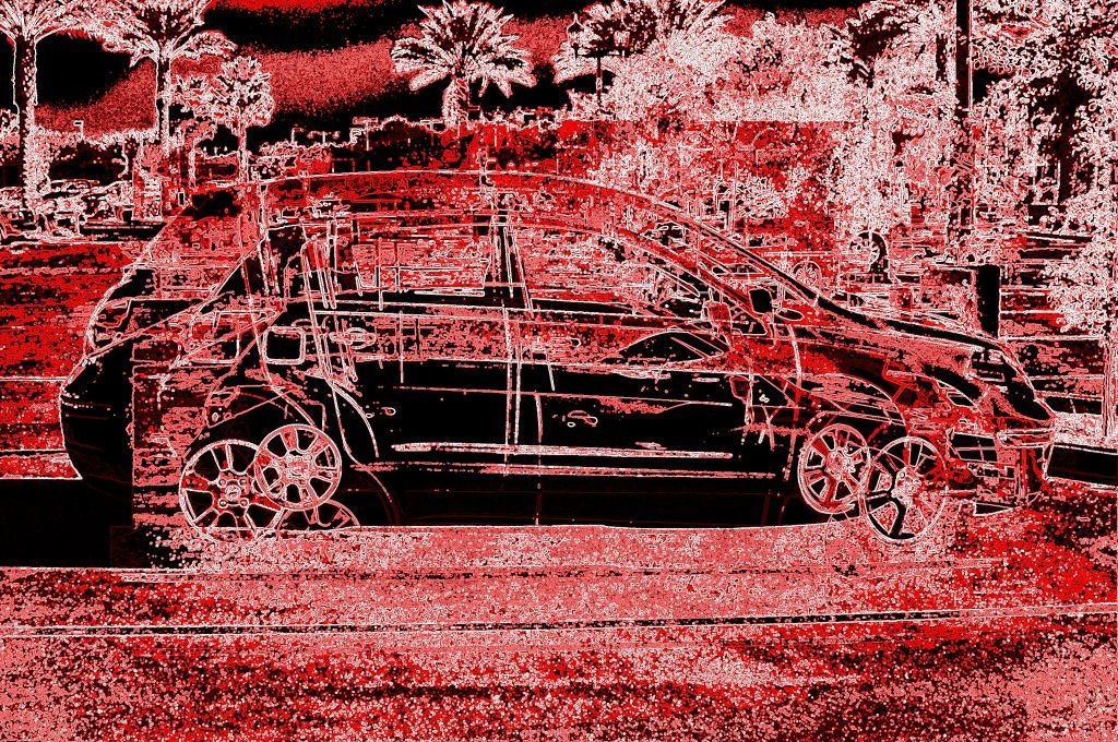 My Car Distorted Another world, World, Qr code generator