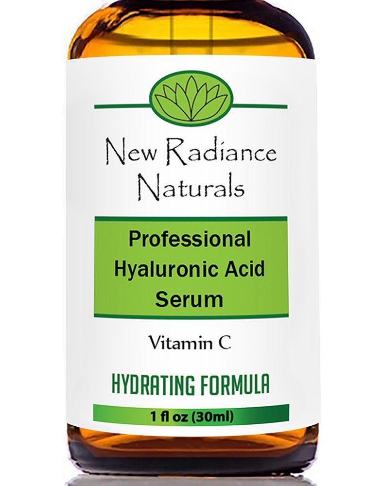 New Radiance Naturals Organic AntiAging Hyaluronic Acid Serum with