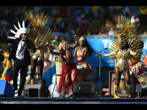 Shakira S La La La Lala Official Song Fifa World Cup Final Closing B Fifa World Cup Fifa World Cup