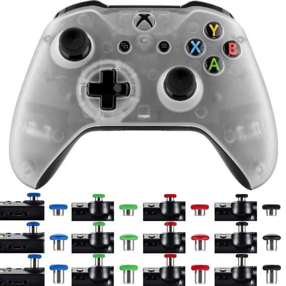 Custom Xbox One S Controller Clear Foggy Colored Shell