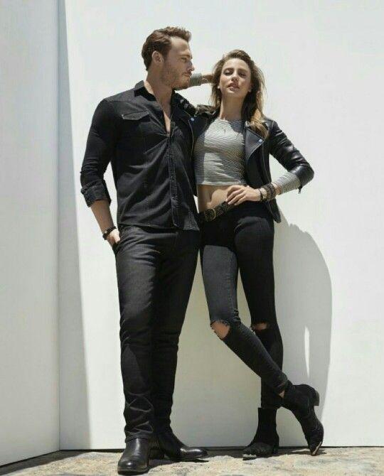 Serenay Sarıkaya Leather Pants Casual Fashion