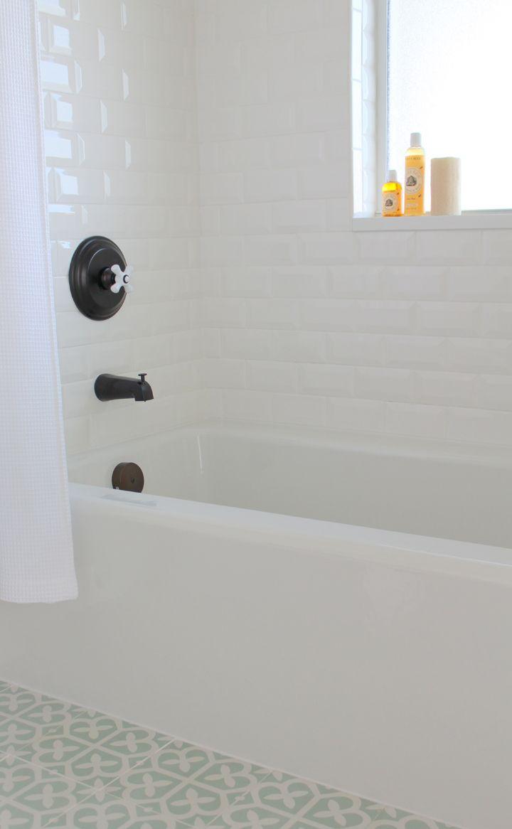 Kara Hebert Interiors Tub Cover Shower Tile Bathtub Cover