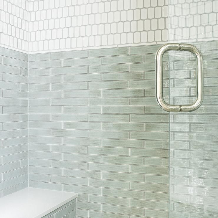 Shower with white subway tiles and grout ideas pinterest also
